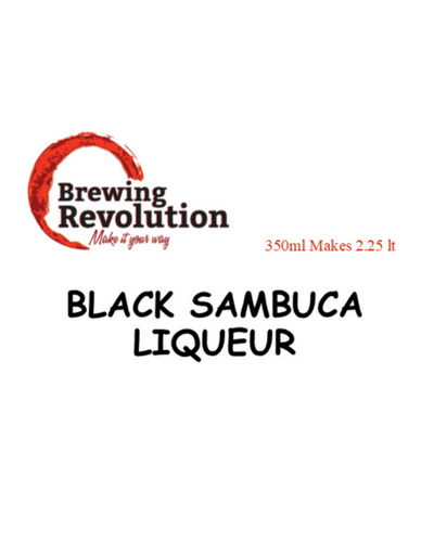 Brewing Revolution Black Sambuca Liqueur Premix
