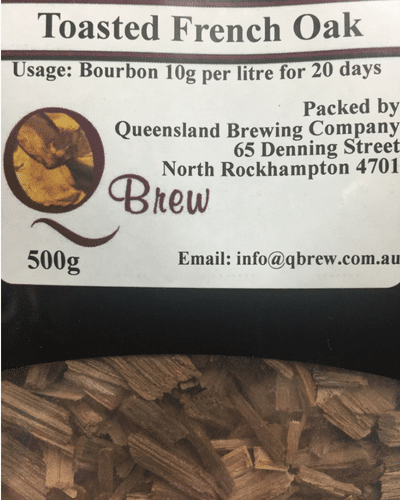 QBrew Toasted French Oak Chips